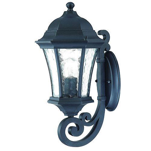 Acclaim Lighting Waverly 100W 1-Light Outdoor Wall Lantern in Black finish