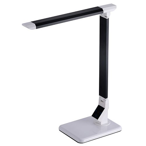 Bostitch 17.75 Inches Black LED Desk Lamp with Touch Panel