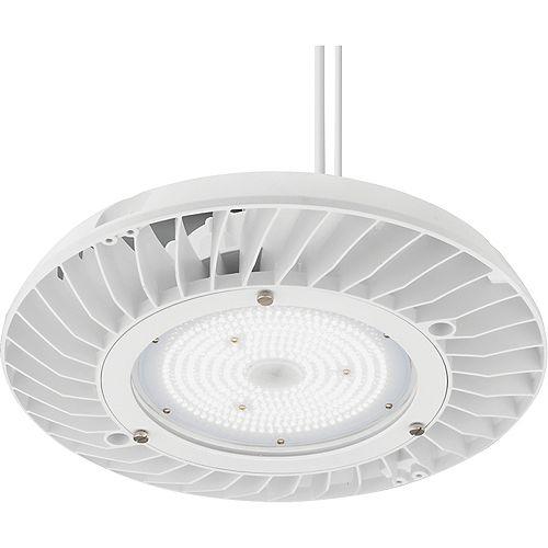 JEBL 12,000 Lumen, 4000K Cool White LED High Bay Light, White
