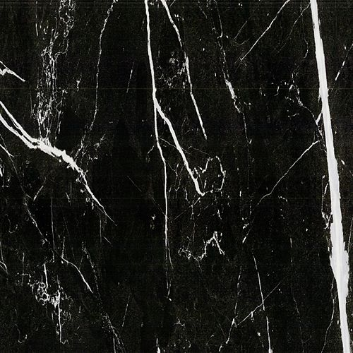 Mono Serra Marble Black 24-inch x 24-inch Porcelain Tile (15.5 sq. ft. / case)