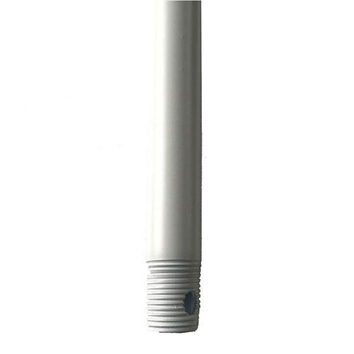 Tige Descendante d'Extension de Ventilateur de Plafond de 24 po en Blanc Mat