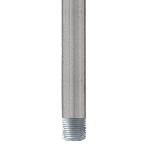 Tige Descendante d'Extension de Ventilateur de Plafond de 48 po en Nickel Brossé