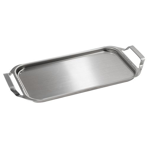 Clad Aluminum Griddle in Stainless Steel