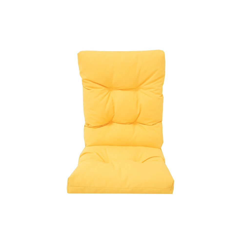 Bozanto Inc. Highback Cushion Yellow