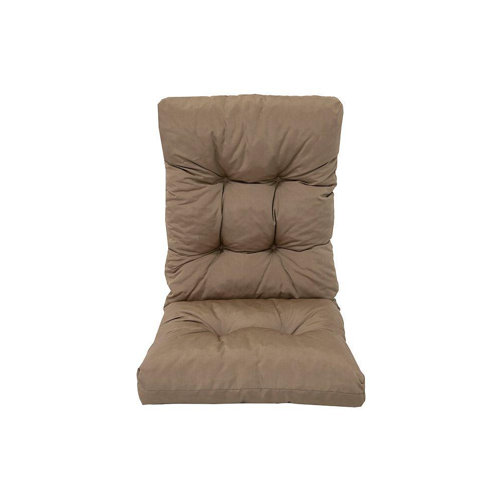 Bozanto Inc. Highback Cushion Brown