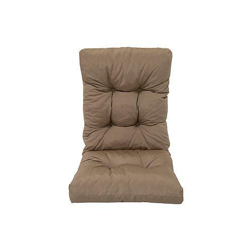 Highback Cushion Brown