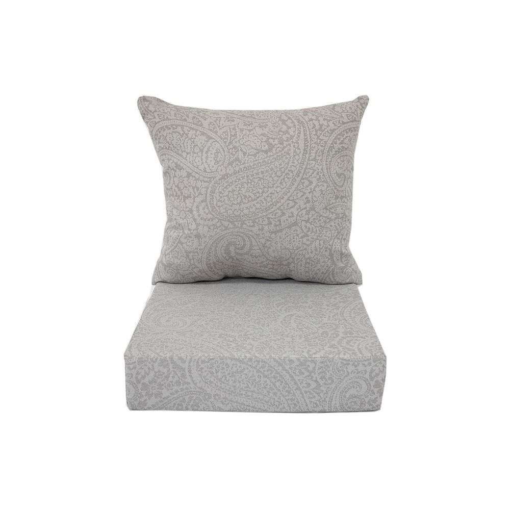 Bozanto Inc. Deep Seating Cushion Grey