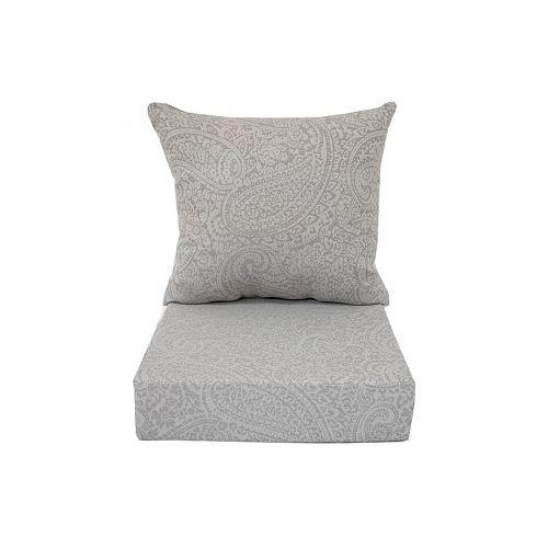 Deep Seating Cushion Grey