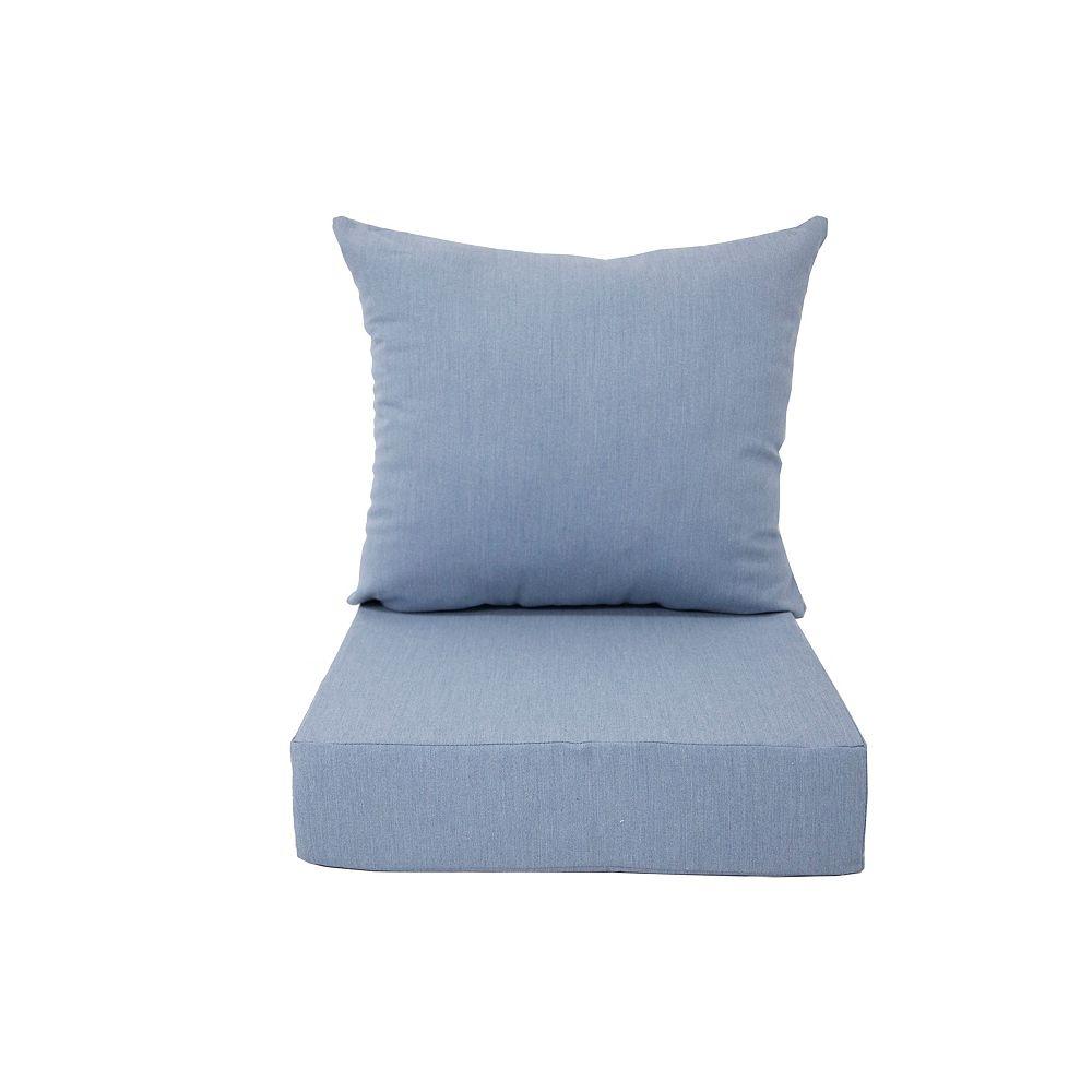 Bozanto Inc. Deep Seating Cushion Blue