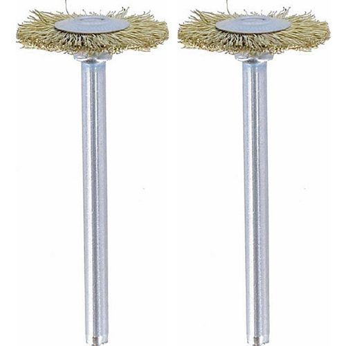 """535-02 3/4"""" Brass Brushes (2PK)"""