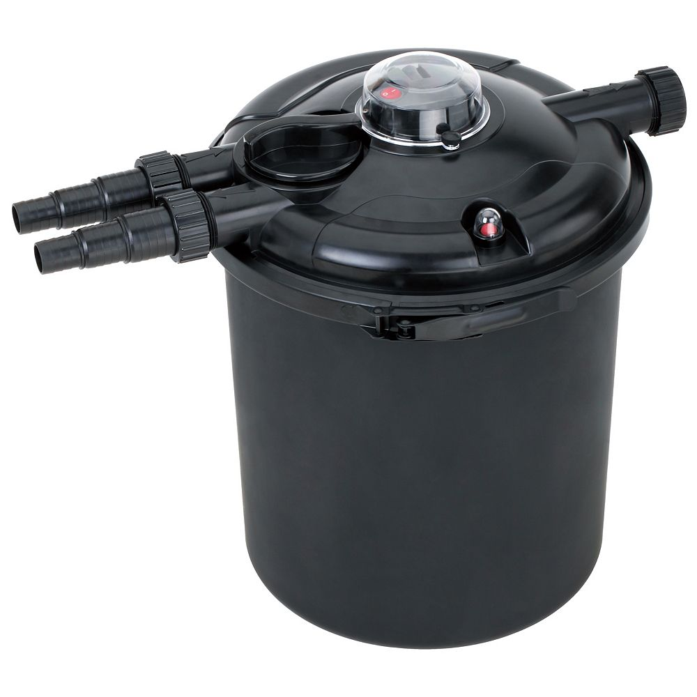 Angelo Décor Biological Pressure Filter - Up to 2500 Gallons with 18 Watt UV Clarifier