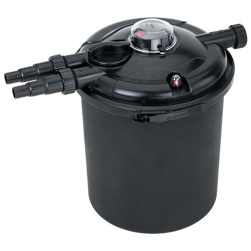 Biological Pressure Filter - Up to 2500 Gallons with 18 Watt UV Clarifier