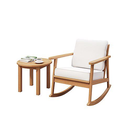 Glenbrooke 2-Piece Rocking Chair Seating Set