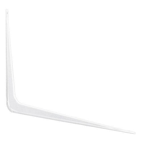Paulin 8 po x 10 po support tablette, blanc, 20 paquet