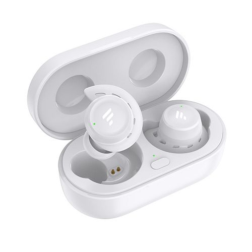 T20 Drop Safe Bluetooth Wireless Earbuds with Charging Case - White