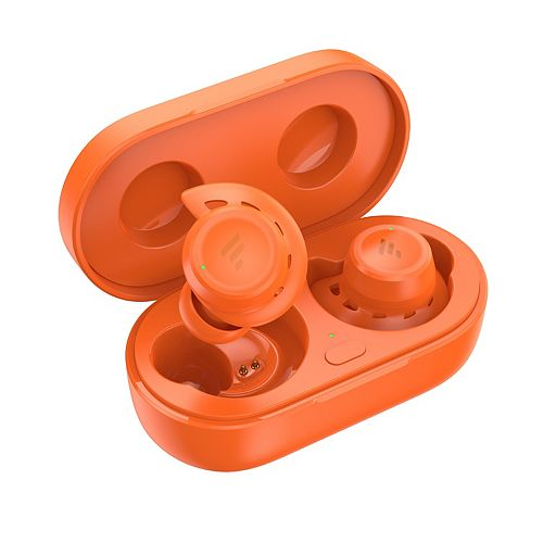 T20 Drop Safe Bluetooth Wireless Earbuds with Charging Case - Orange