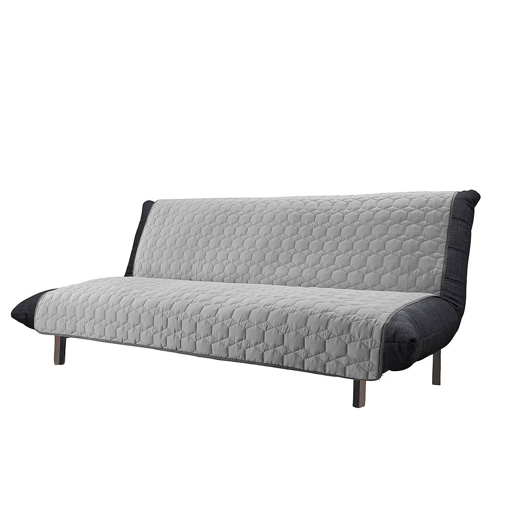 Sure Fit Armless Furniture Sofa - Light Grey