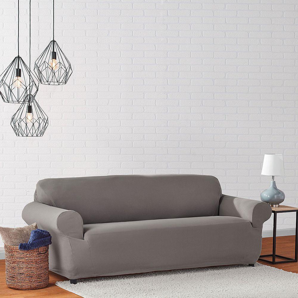 Sure Fit Mini Deco Sofa - Gray
