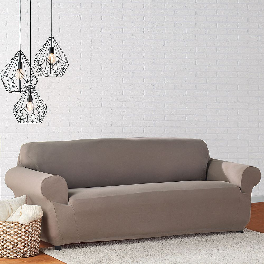 Sure Fit Mini Deco Sofa - Taup