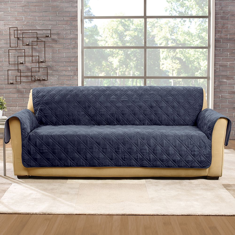Sure Fit Non-Slip Waterproof Sofa - Storm Blue