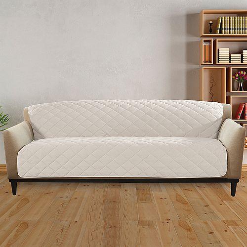 Sherpa Furniture Sofa - Cream