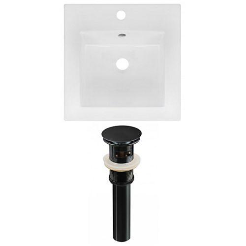 AI-23817 16.5-inch W Ceramic Top Set in Black