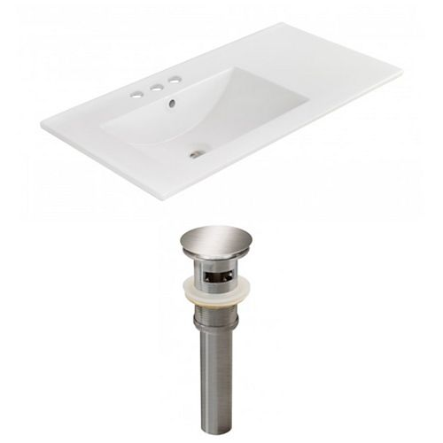 AI-23868 35.5-inch W Ceramic Top Set in Brushed Nickel