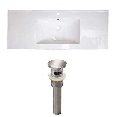 AI-23945 48.75-inch W Ceramic Top Set in Brushed Nickel