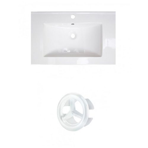 AI-20772 23.75-inch W Ceramic Top Set in White