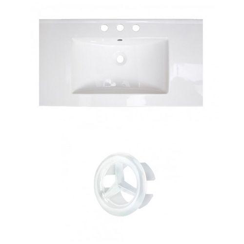 AI-20796 32-inch W Ceramic Top Set in White
