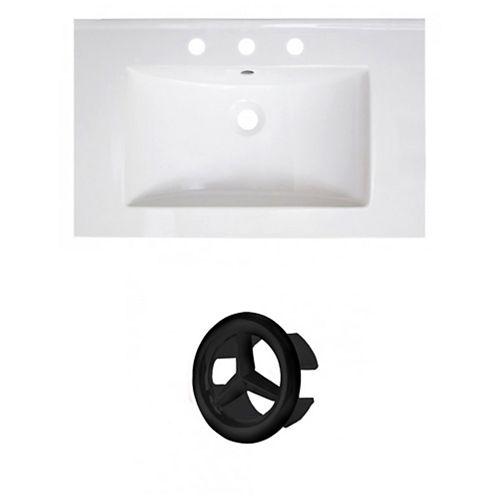 AI-21067 30-inch W Ceramic Top Set in Black