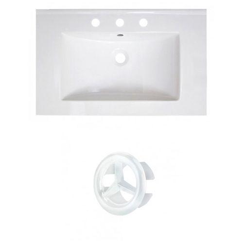AI-21068 30-inch W Ceramic Top Set in White