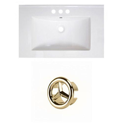 AI-21104 30-inch W Ceramic Top Set in Gold