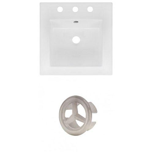 AI-21149 16.5-inch W Ceramic Top Set in Brushed Nickel