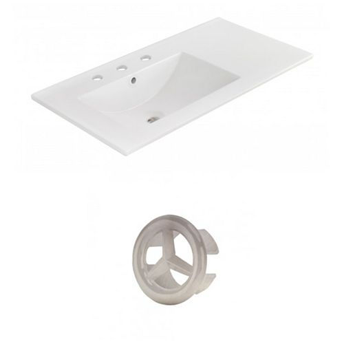 AI-21197 35.5-inch W Ceramic Top Set in Brushed Nickel