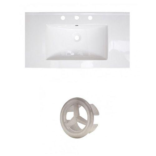 AI-21269 36.75-inch W Ceramic Top Set in Brushed Nickel