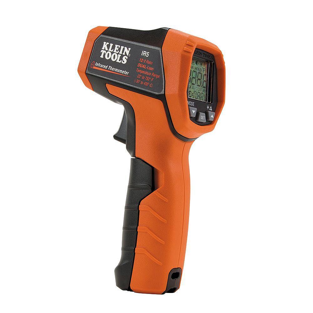 Klein Tools Thermomètre à infrarouge à double laser