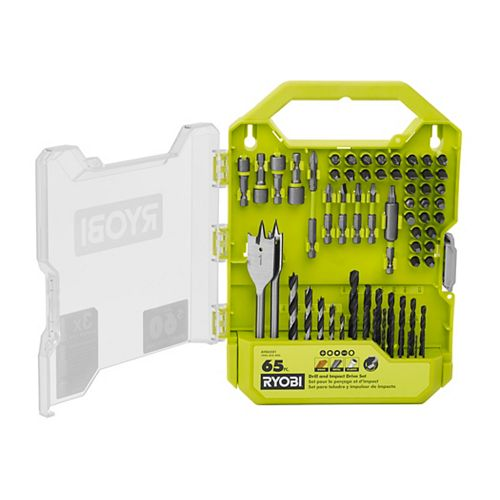 Drill and Impact Drive Kit (65-Piece)