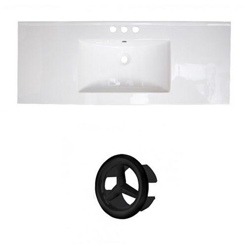AI-21291 48.75-inch W Ceramic Top Set in Black