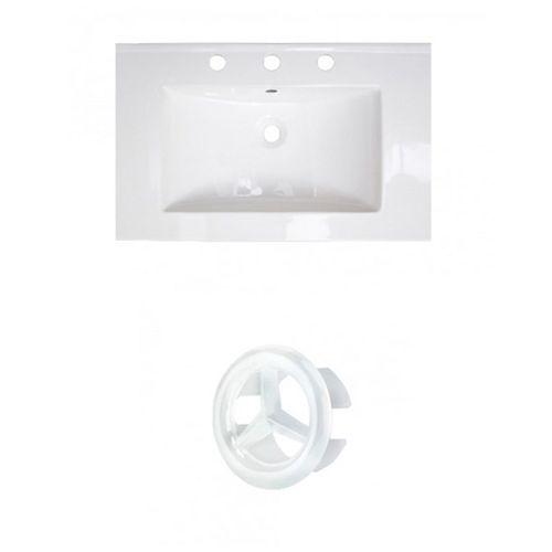 AI-21356 24-inch W Ceramic Top Set in White