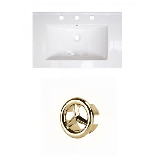 AI-21360 24-inch W Ceramic Top Set in Gold