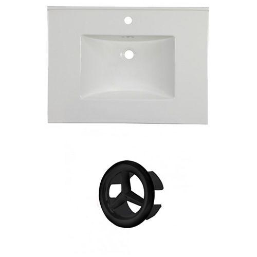 AI-21371 30.75-inch W Ceramic Top Set in Black