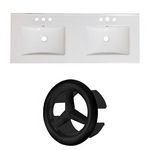 AI-24339 48-inch W Ceramic Top Set in Black