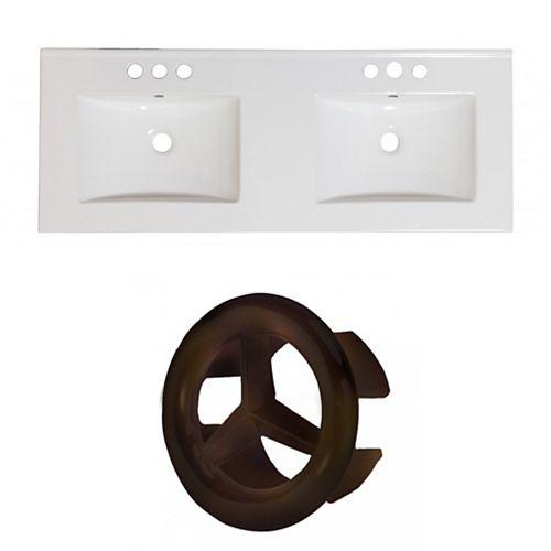 AI-24345 48-inch W Ceramic Top Set in Oil Rubbed Bronze