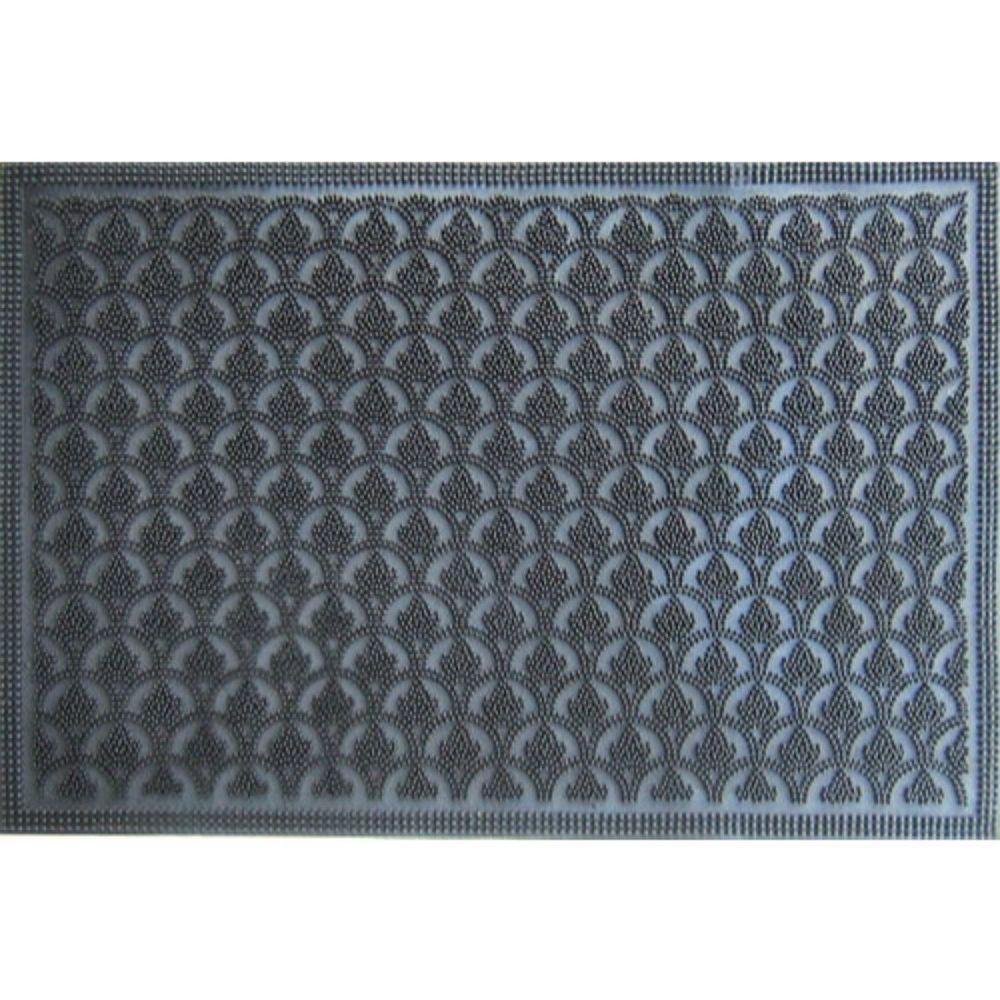 IH Casa Decor Ih casadecor  16-inch X 24-inch Scales Rubber Pin Door Mat