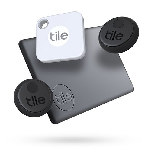 Tile Pro (2020) - 4 Pack; High Performance Bluetooth Tracker, Item Locator for Keys, Bags, and More