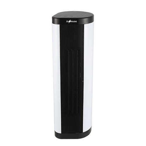 Ecohouzng 22 inch Tower Ceramic Fan Heater with Remote