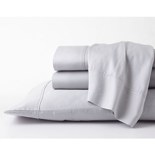 GhostBed GhostBed Twin Premium Supima Cotton and Tencel Luxury Soft Sheet Set- Grey