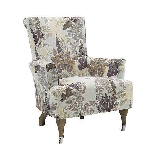 Wynonna Leaf Accent Chair