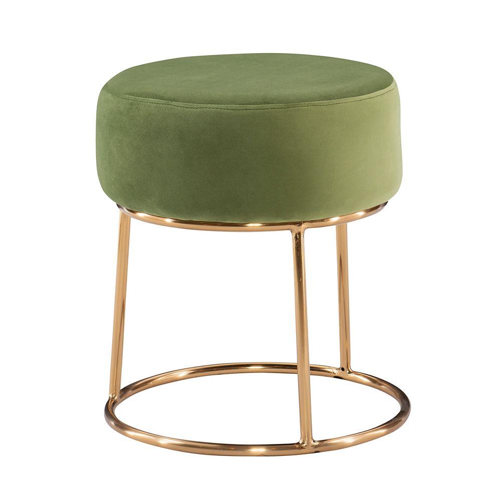 Linon Home Décor Products Banbury Ottoman Green